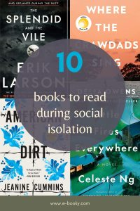 Books to read during social isolation